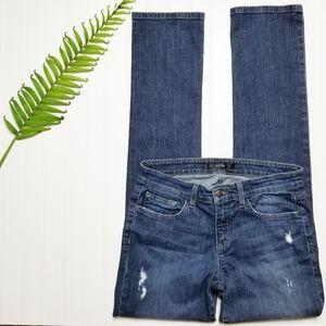 Joe's Jeans Distressed Skinny Jeans 27